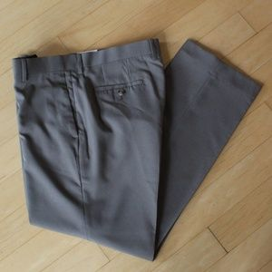 Claiborne Easy-care gray dress pants NWT